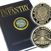 Infantry Coins and Books
