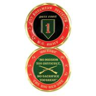 1st Infantry Division Coin