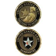 2nd Infantry Coin