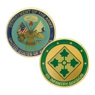 4th Infantry Coin