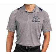 Sport-Tek Heather Polo