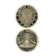 US Army Infantry Coin